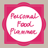 Personal Food Planner